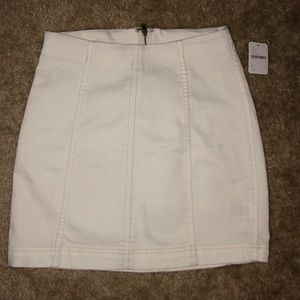 New Free People White Skirt